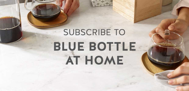 Blue Bottle At Home