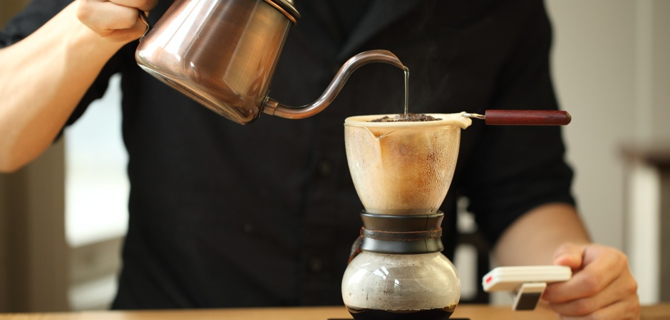 nel drip pot brewing guide how to brew coffee blue