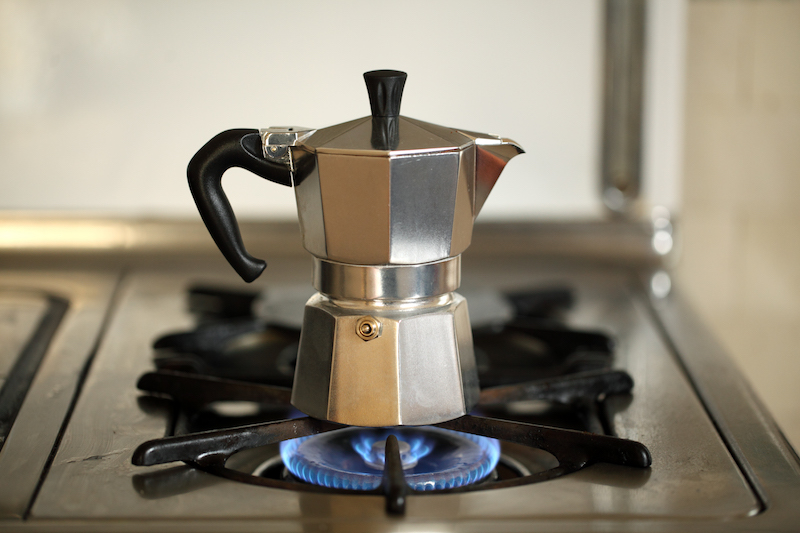 Bialetti: coffee grinder.